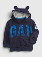 Gap Dojenčki Pulover Logo fr ft arch fz hood 3-6M