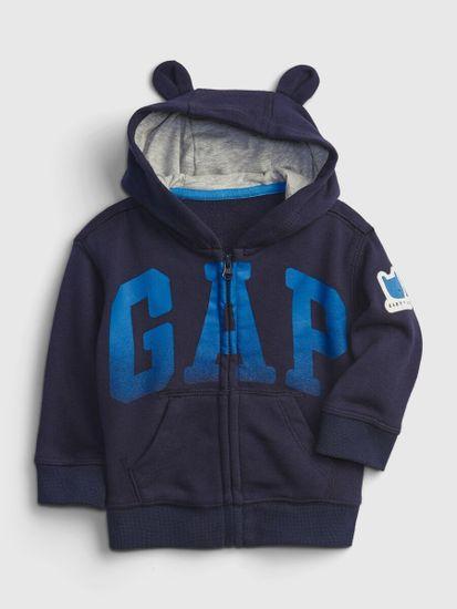 Gap Dojenčki Pulover Logo fr ft arch fz hood