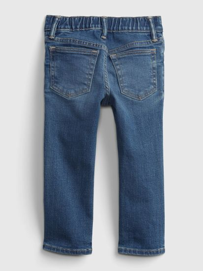 Gap Otroške Jeans hlače gl slim taper - med wash