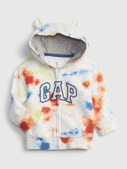 Gap Dojenčki Pulover Logo fr ft arch fz hood - fash