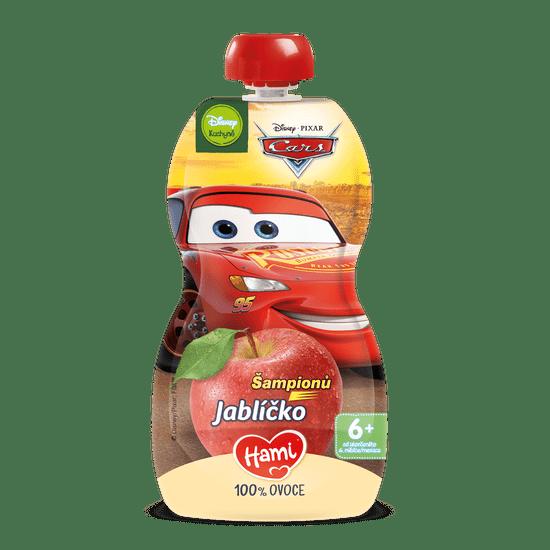Hami Disney Cars ovocná kapsička Jabĺčko 6 x 110 g, 6+