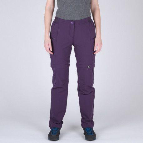 Northfinder Dámske 2v1 nohavice komfortné VIERSA