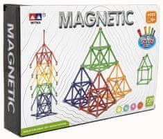 Teddies Mágneses építőkészlet 120 db
