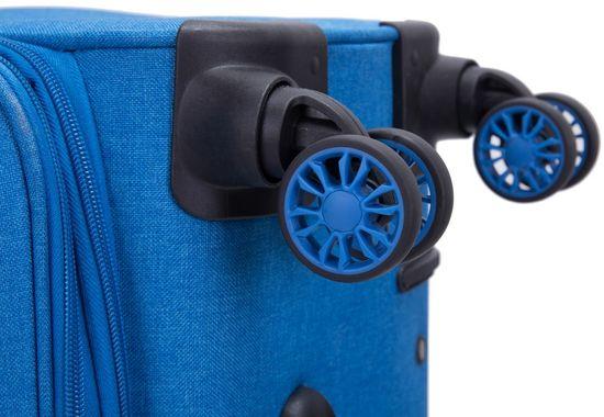 Swiss Sada kufrů Alpine Soft Blue 3-set