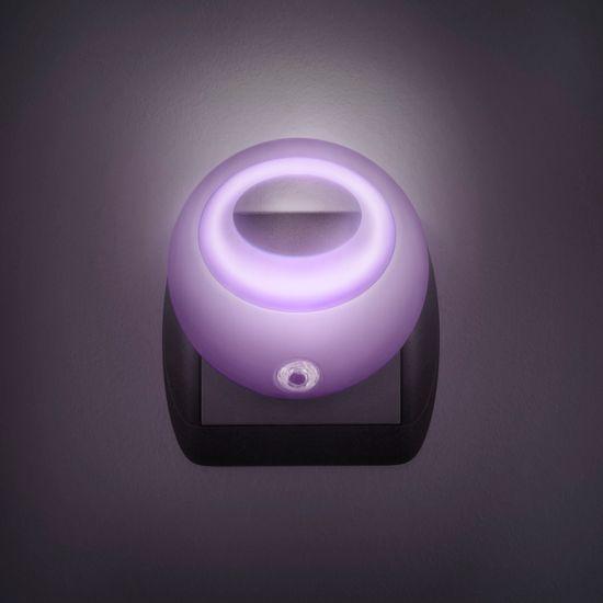 PHENOM Nočna lučka Phenom LED s senzorjem svetlobe - roza