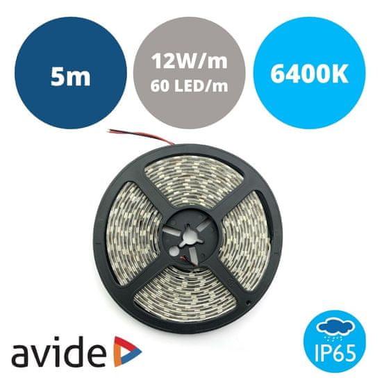 Avide LED trak 12V 12W 6400K IP65 5m