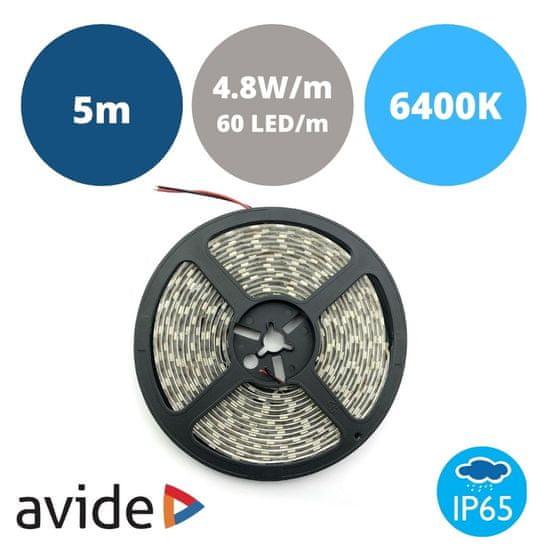 Avide LED trak 12V 4.8W 6400K IP65 5m