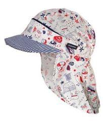 Maximo Sahara fantovska kapa s senčnikom, bela, 45