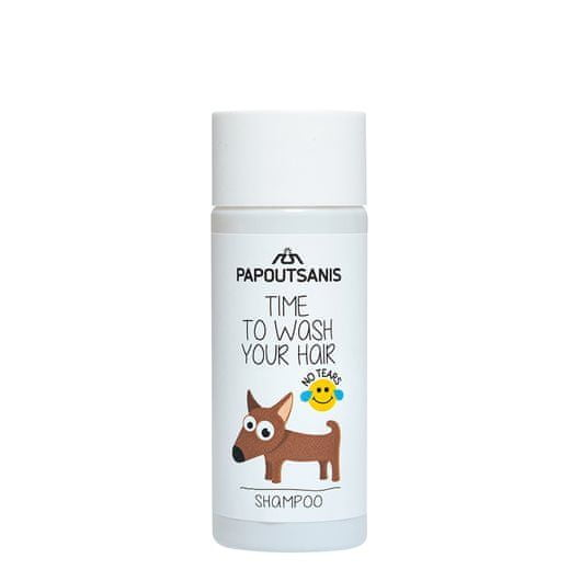 NATURA Papoutsanis Řecký přírodní dětský šampon 35ml