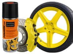 Foliatec dvousložková barva na brzdy ve spreji žlutá