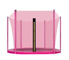 Aga Notranja zaščitna mreža 180 cm za 6 palic Pink