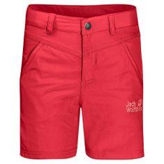 Jack Wolfskin Lány rövidnadrág Sun Shorts Kids 1605613_1, 104, piros