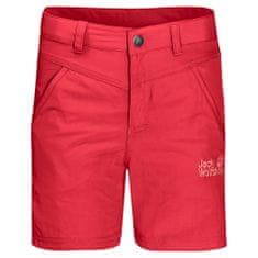 Jack Wolfskin Lány rövidnadrág Sun Shorts Kids 1605613_1, 140, piros