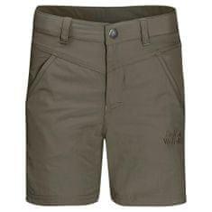 Jack Wolfskin otroške kratke hlače Sun Shorts Kids 1605613_2, 92, kaki