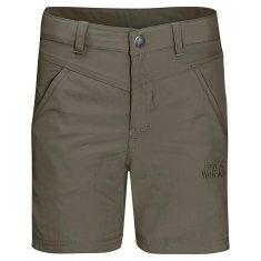Jack Wolfskin Gyerek rövidnadrág Sun Shorts Kids 1605613_2, 104, khaki