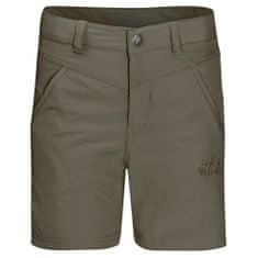 Jack Wolfskin otroške kratke hlače Sun Shorts Kids 1605613_2, 116, kaki