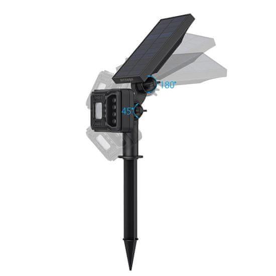 Blitzwolf BW-OLT2 LED sončna svetilka, črna