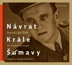 Žák David Jan: Návrat Krále Šumavy - MP3-CD