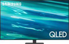 Samsung QE75Q80AATXXH QLED 4K televizor, Smart TV + Spotify Premium 3 mesece + DARILO: Samsung Smart monitor LS27AM500