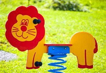 SAPEKOR Pružinové houpadlo lev