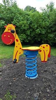 SAPEKOR Pružinové houpadlo Žirafa
