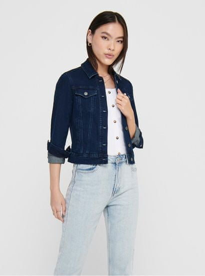 Jacqueline de Yong modrá džínová bunda