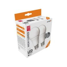 Avide LED žarnica - sijalka TWIN PACK E27 A60 12W 1360lm nevtralno bela 4000K