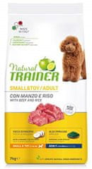 TRAINER Natural Small&Toy Ad. Hovězí a rýže 7kg