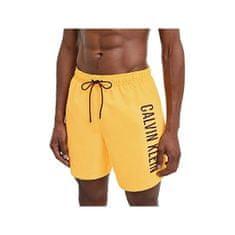 Calvin Klein Moške plavalne kratke hlače KM0KM00570 -ZFK (Velikost L)