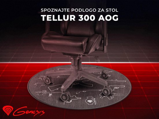 Genesis Tellur 300 Arsenal Of Gamer podloga za stol, 100 cm