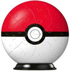 Ravensburger 3D Puzzle-Ball pokemon motiv, 1 - 54 delov