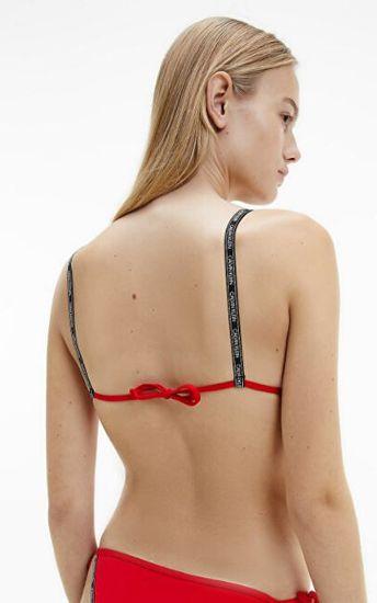 Calvin Klein Női bikini felső Triangle KW0KW01272-XMK