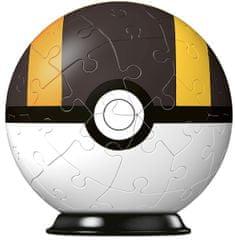 Ravensburger 3D Puzzle-Ball Pokémon motyw 3, 54 elementy
