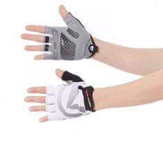 Northfinder ženske kolesarske rokavice, S, črno/bele