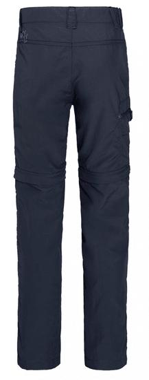 Jack Wolfskin spodnie chłopięce z odpinanymi nogawkami Safari Zip Off Pants Kids 1605871