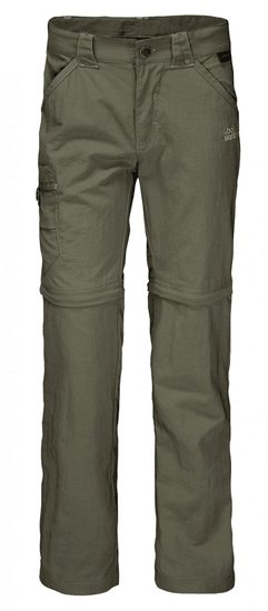 Jack Wolfskin spodnie dziecięce z odpinanymi nogawkami Safari Zip Off Pants Kids 1605871_1