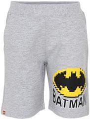 LEGO Wear chlapčenské kraťasy Batman LW-12010128 sivá 104