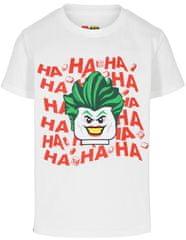 LEGO Wear koszulka chłopięca Batman LW-12010142, 104 biała