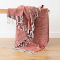 LinenMe Terra Cota Cotton Throw Valeria