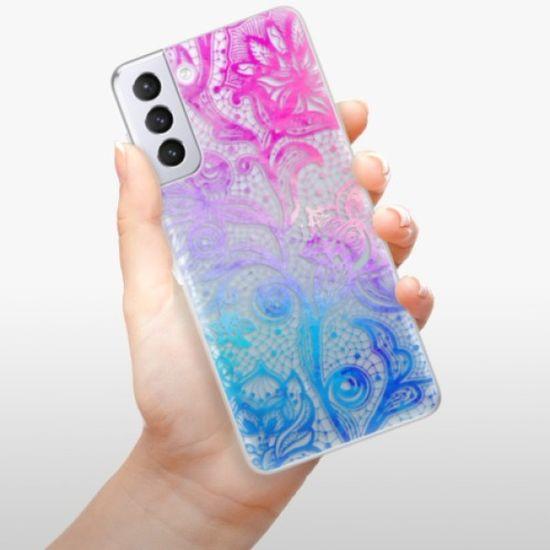 iSaprio Color Lace szilikon tok Samsung Galaxy S21+