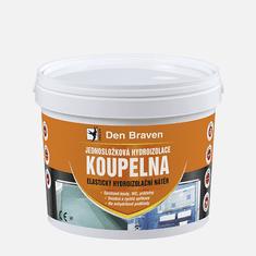 EGIBI Jednosložková hydroizolace KOUPELNA, kbelík 13 kg, medově hnědá (CH0291)