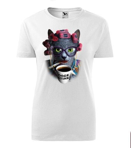BrinX.cz Cat Lady - nové dámské tričko