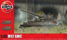 Airfix Classic Kit tank A1372 - M12 GMC (1:35)