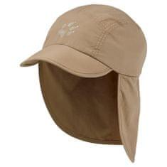 Jack Wolfskin Supplex Canyon Cap Kids 1905901_1 otroška kapa z zaščito za vrat in UV zaščito, S, bež