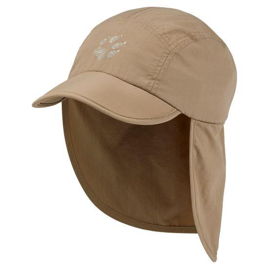 Jack Wolfskin Supplex Canyon Cap Kids 1905901_1 otroška kapa z zaščito za vrat in UV zaščito