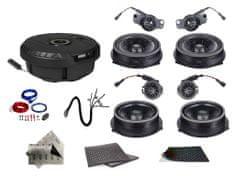 Audio-system SET - kompletní ozvučení do Audi A4 B8 (2008-2015)- UPGRADE 2