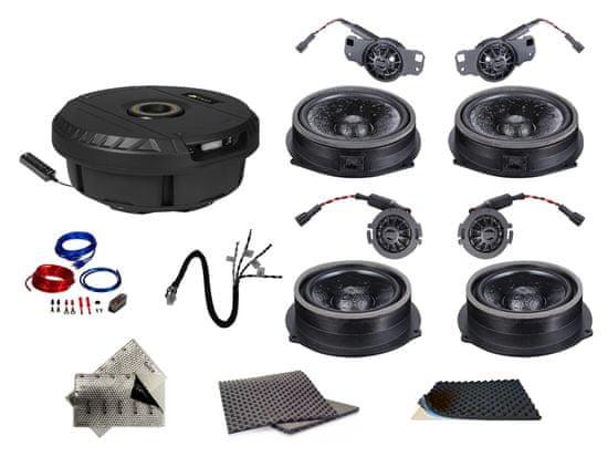 Audio-system SET - kompletní ozvučení do Audi A5 B8 (2007-2017) - UPGRADE 2