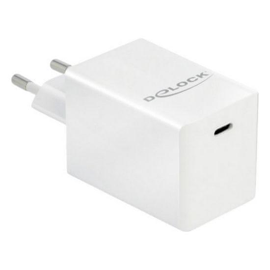 Delock USB stenski polnilnik 41447