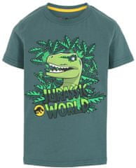 LEGO Wear chlapčenské tričko Jurassic Park LW-12010109, 98, zelená