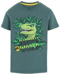 LEGO Wear LW-12010109 Jurrasic Park majica za dječake, zelena, 104